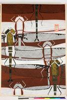 友禅図案(伊達模様友禅図案集より) 20046003211| 写真素材・ストックフォト・画像・イラスト素材|アマナイメージズ