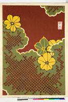 友禅図案(伊達模様友禅図案集より) 20046003253| 写真素材・ストックフォト・画像・イラスト素材|アマナイメージズ