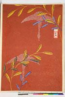友禅図案(伊達模様友禅図案集より) 20046003304| 写真素材・ストックフォト・画像・イラスト素材|アマナイメージズ