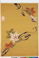 友禅図案(芦手模様友禅図案集より) 20046003650| 写真素材・ストックフォト・画像・イラスト素材|アマナイメージズ