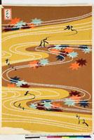 友禅図案(芦手模様友禅図案集より) 20046003858| 写真素材・ストックフォト・画像・イラスト素材|アマナイメージズ