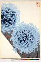 友禅図案(夏模様随意友禅図案集より) 20046003912| 写真素材・ストックフォト・画像・イラスト素材|アマナイメージズ