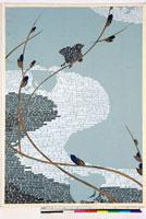 友禅図案(夏模様随意友禅図案集より) 20046003953| 写真素材・ストックフォト・画像・イラスト素材|アマナイメージズ