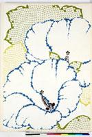 友禅図案(夏模様随意友禅図案集より) 20046003965| 写真素材・ストックフォト・画像・イラスト素材|アマナイメージズ