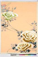 友禅図案(夏模様随意友禅図案集より) 20046004112| 写真素材・ストックフォト・画像・イラスト素材|アマナイメージズ