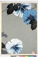 友禅図案(夏模様随意友禅図案集より) 20046004344| 写真素材・ストックフォト・画像・イラスト素材|アマナイメージズ