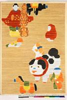 友禅図案(秋冬応用随意友禅図案集より) 20046005337| 写真素材・ストックフォト・画像・イラスト素材|アマナイメージズ