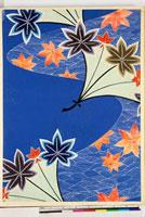 友禅図案(秋冬向模様友禅図案集より) 20046005374| 写真素材・ストックフォト・画像・イラスト素材|アマナイメージズ