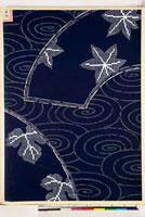 友禅図案(秋冬向模様友禅図案集より) 20046005379| 写真素材・ストックフォト・画像・イラスト素材|アマナイメージズ