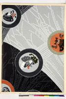 友禅図案(秋冬向模様友禅図案集より) 20046005381| 写真素材・ストックフォト・画像・イラスト素材|アマナイメージズ