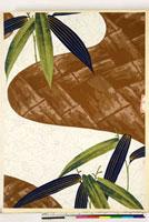 友禅図案(秋冬向模様友禅図案集より) 20046005382| 写真素材・ストックフォト・画像・イラスト素材|アマナイメージズ