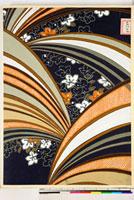 友禅図案(秋冬向模様友禅図案集より) 20046005387| 写真素材・ストックフォト・画像・イラスト素材|アマナイメージズ