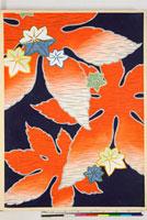 友禅図案(秋冬向模様友禅図案集より) 20046005390| 写真素材・ストックフォト・画像・イラスト素材|アマナイメージズ