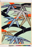 友禅図案(秋冬向模様友禅図案集より) 20046005397| 写真素材・ストックフォト・画像・イラスト素材|アマナイメージズ