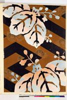 友禅図案(秋冬向模様友禅図案集より) 20046005399| 写真素材・ストックフォト・画像・イラスト素材|アマナイメージズ