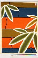 友禅図案(秋冬向模様友禅図案集より) 20046005404| 写真素材・ストックフォト・画像・イラスト素材|アマナイメージズ