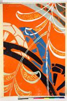 友禅図案(秋冬向模様友禅図案集より) 20046005415| 写真素材・ストックフォト・画像・イラスト素材|アマナイメージズ
