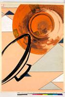 友禅図案(秋冬向模様友禅図案集より) 20046005429| 写真素材・ストックフォト・画像・イラスト素材|アマナイメージズ