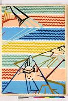 友禅図案(秋冬向模様友禅図案集より) 20046005440| 写真素材・ストックフォト・画像・イラスト素材|アマナイメージズ