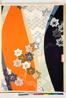 友禅図案(秋冬向模様友禅図案集より) 20046005441| 写真素材・ストックフォト・画像・イラスト素材|アマナイメージズ