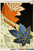 友禅図案(秋冬向模様友禅図案集より)