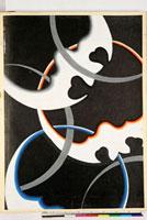友禅図案(秋冬向模様友禅図案集より) 20046005446| 写真素材・ストックフォト・画像・イラスト素材|アマナイメージズ