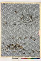 友禅図案(秋冬向模様友禅図案集より) 20046005467| 写真素材・ストックフォト・画像・イラスト素材|アマナイメージズ