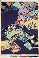 友禅図案(秋冬向模様友禅図案集より) 20046005473| 写真素材・ストックフォト・画像・イラスト素材|アマナイメージズ