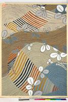 友禅図案(秋冬向模様友禅図案集より) 20046005477| 写真素材・ストックフォト・画像・イラスト素材|アマナイメージズ