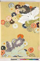 友禅図案(秋冬向模様友禅図案集より) 20046005483| 写真素材・ストックフォト・画像・イラスト素材|アマナイメージズ