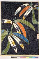 友禅図案(秋冬向模様友禅図案集より) 20046005502| 写真素材・ストックフォト・画像・イラスト素材|アマナイメージズ