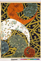 友禅図案(秋冬向模様友禅図案集より) 20046005503| 写真素材・ストックフォト・画像・イラスト素材|アマナイメージズ