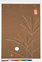 友禅図案(秋冬向模様友禅図案集より) 20046005537| 写真素材・ストックフォト・画像・イラスト素材|アマナイメージズ