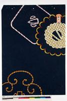 友禅図案(秋冬向模様友禅図案集より) 20046005540| 写真素材・ストックフォト・画像・イラスト素材|アマナイメージズ
