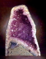 Quartz variety amethyst