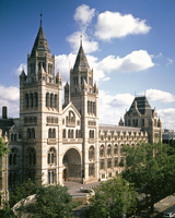 The Cromwell Road facade of the Natural History Museum, Lon