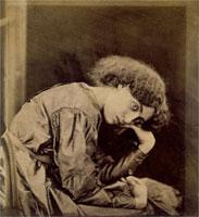 Jane Morris, photo Dante Gabriel Rossetti. England, 1865