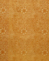 Marigold furnishing fabric, by William Morris. England, 187