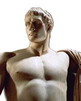Napoleon Bonaparte, by Antonio Canova. Florence, Italy, 181