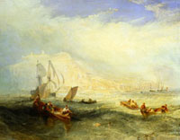 Line Fishing Off Hastings, by J.M.W.Turner. Hastings, Engla 20048001401| 写真素材・ストックフォト・画像・イラスト素材|アマナイメージズ