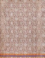 Small Syringa furnishing fabric, by Edward William Godwin.