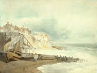 Brighthelmstone, by J.M.W. Turner. Brighton, England, early