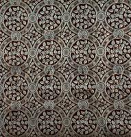 Small Syringa furnishing fabric, by Edward William Godwin. 20048001796| 写真素材・ストックフォト・画像・イラスト素材|アマナイメージズ
