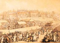 Brook Green Fair, by Thomas Rowlandson. England, 18th-19th