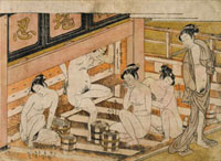 Men With Women, by Isoda Koryusai. Japan, 18th century