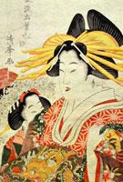 The Doll's Festival, by Torii Kiyomitsu II. Japan, 19th cen