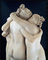 The Three Graces, by Antonio Canova. Italy, 1814-17