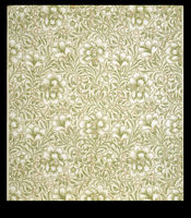 Carnation wallpaper, by William Morris (1834-96). Paper. Eng