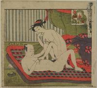 Woodblock print, Japan; by Suzuki Harunobo (1725 - 70)