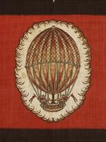 The Hot-Air Balloon, detail. Mulhouse, France, late 18th century